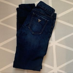 Guess Size 25 short skinny jeans